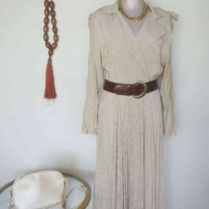 Vintage Dress with Belt Size 8
